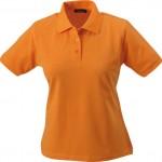 8.JN071_Polo donna arancione
