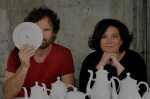 Carlo Cracco e Tanja Solci