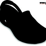 Zoccolo CROCS Mercy Work - nero